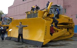 самый большой и производительный бульдозер ЧТЗ в мире